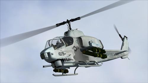 AH-1W Super Ophiophagus AlphaSim FS2004