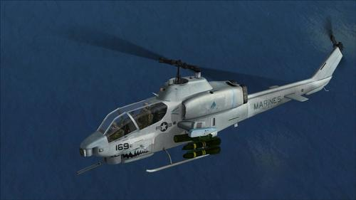 AH-1W Super Cobra AlphaSim FS2004