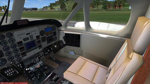 Beechcraft Super King Air 300 Дайвінг-клуб Сент-Маартен FSX