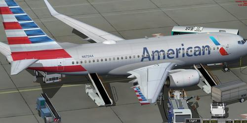 Airlines Americanaidd TDS Boeing 737-700 FSX  &  P3D