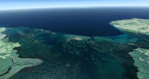 Guadeloupe Free for P3Dv4