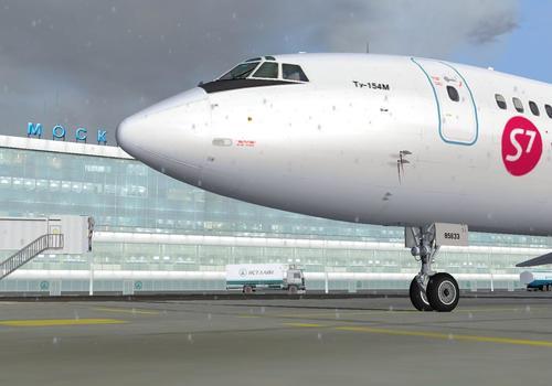 """Tupolev Tu-154m v2.03 projektas"" Tupolev FS2004"