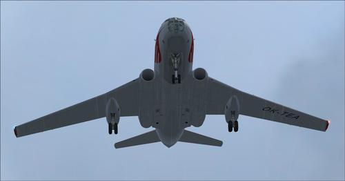 Tupolev Tu-124 FSX SP2 ir P3D