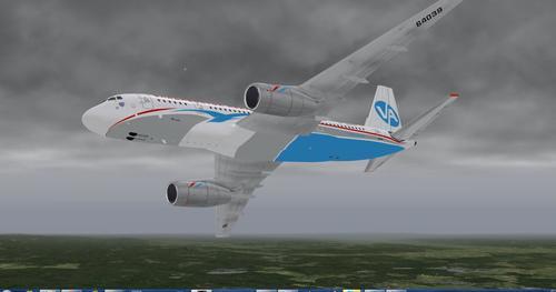Той-204 X-Plane  10