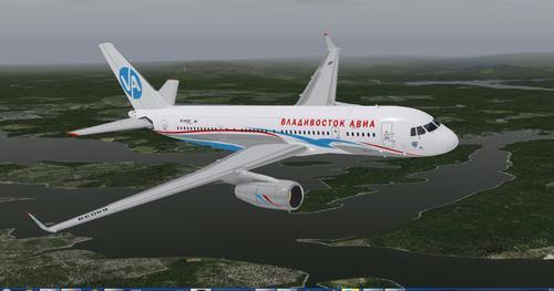Ту-204 X-Plane 9