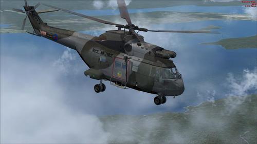 I-UKMIL AS Puma HC1 FSX