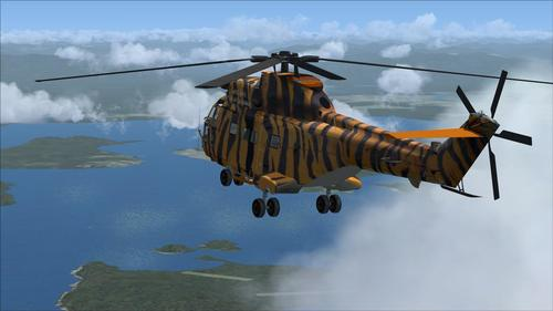UKMIL AS Puma HC1 FSX