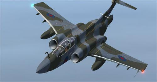 UKMIL Blackburn Buccaneer Package S2 FSX  &  P3D