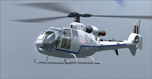 UKMIL Gazelle AH1 Package FSX & P3D