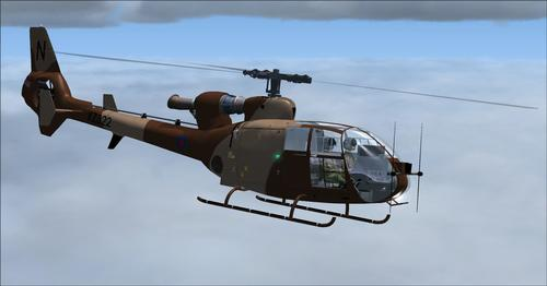 UKMIL Gazelle AH1 Package FSX & P3D