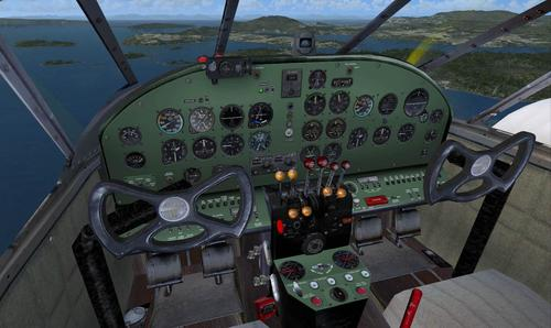 Beech Expeditor Mk.III FSX & P3D