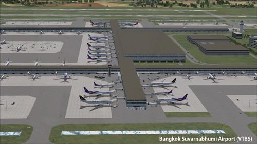 Bangkok VTBD & VTBS Airports FSX & P3D