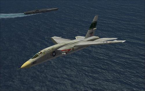 RA-5C آمریکای شمالی آمریکای شمالی Northwest Vigilante FSX  &  P3D