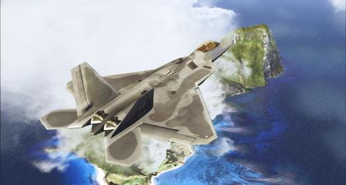 Virtavia F-22A猛禽FS2004