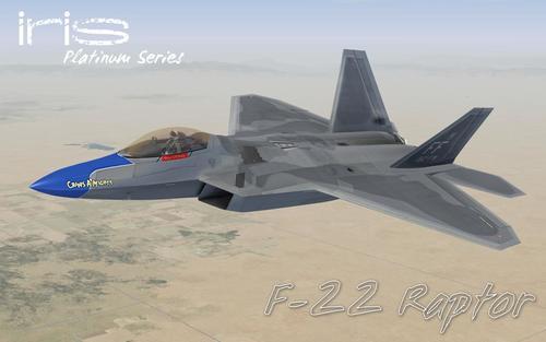 Virtavia F-22A Raptor FSX  &  P3D