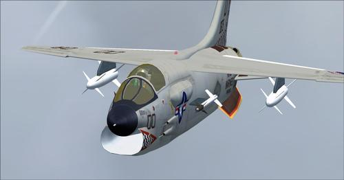 Vought CrusaderF8 v1.00 FSX และ P3D