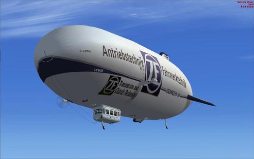 Zeppelin NT V1.0 tuangkan FSX SP1 + SP2