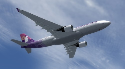 Airbus A330-200 Hawaiian Airlines FSX i P3D