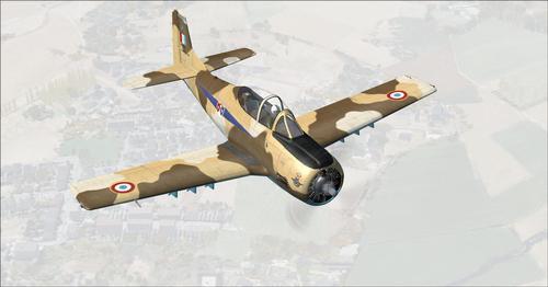 Alpha T-28 Trojan Kuweka FS2004