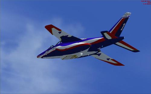 Alpha Jet-E Patrouille de France Flyboys FSX
