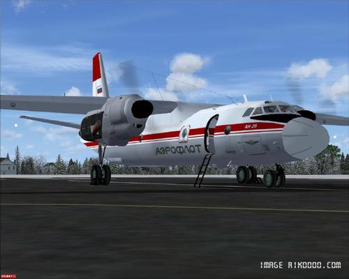 Antonov AN-26 FSX + P3D