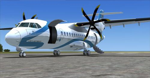 ATR 42-500 72-500 Pack ကို FSX & P3D
