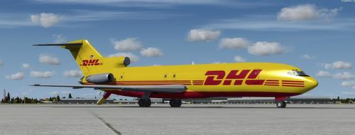 Boeing 727 200-DHL FedEx FSX & P3D