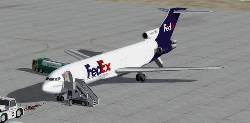 ቦይንግ 727-200 DHL FedEx FSX  &  P3D