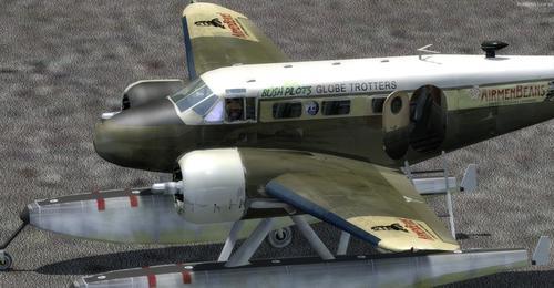 Beechcraft D18S Amphibian FS2004