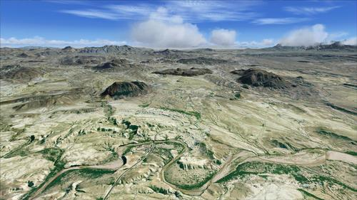Taman Nasional Big Bend Part1 FSX  &  P3D