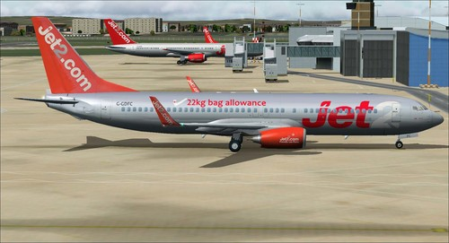 Boeing 737-800 Jet2.com Package FSX & P3D