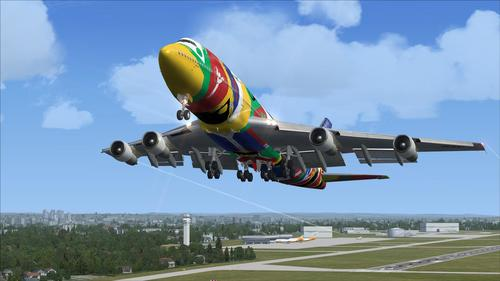 I-Boeing 747-300 I-Mega Package Vol.4 FSX  &  P3D