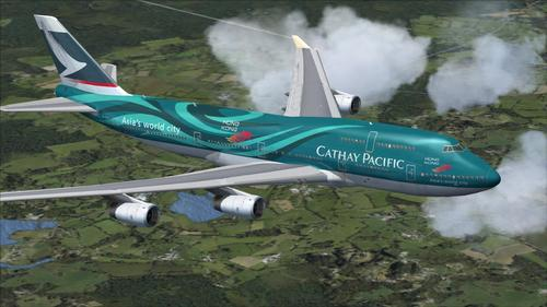 I-Boeing 747-400 I-Mega Package Vol.5 FSX  &  P3D