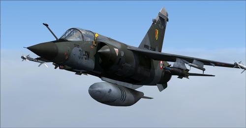 Gói Mega Dassault Mirage F1 FSX  &  P3D