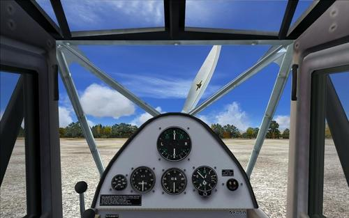 De Havilland dh-80A Puss Moth FS2004
