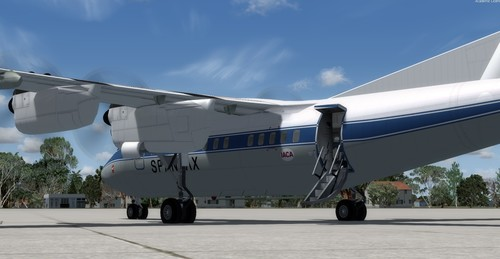 DeHavilland DHC-7 Spantax FSX eta P3D