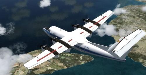 DeHavilland DHC-7 Spantax FSX & P3D