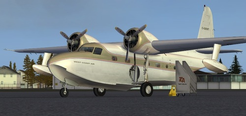 Mallum Grumman G-73 FSX  &  P3D & FS9