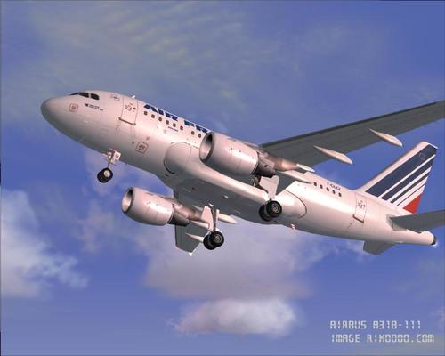 Air France Fleet FS2004