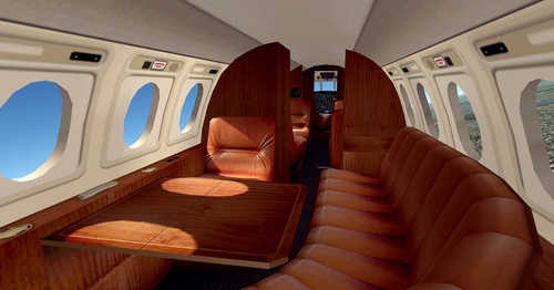 Dassault Falcon 50 FSX & P3D