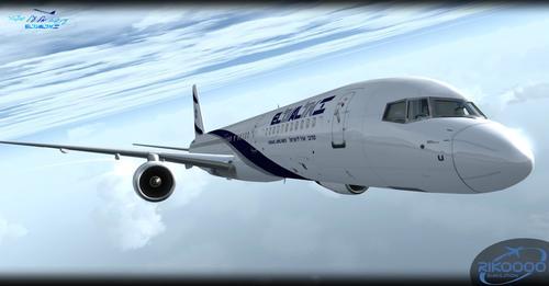 Flotei El Al Israel Airlines v1.0 FSX & P3D