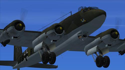 Focke Wulf Fw200 & C4C6 Condor FSX & P3D & FS9