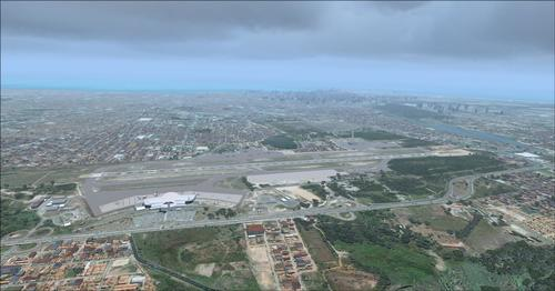 Fortaleza City + Airport Photoreal Rizgari & P3D