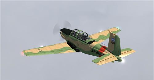 Beechcraft T-34C Mteja wa Turbo FS2004