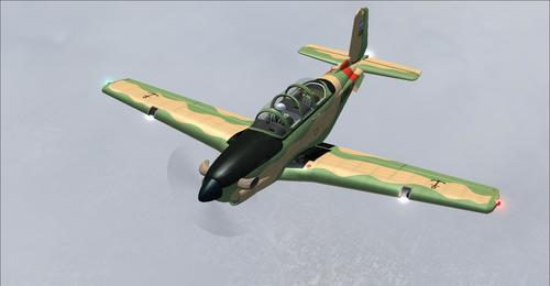 Beechcraft T-34C Turbo Mentor FS2004