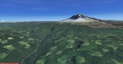 Mt Adams and Mt St. Helens FSX & P3D