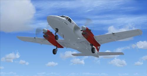 Embraer EMB-110 Bandeirante FSX & P3D & FS9