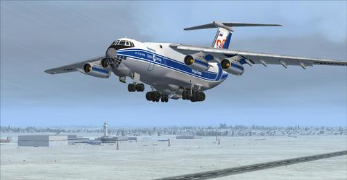 Iljušin Il-76 MD FSX ja FSX-Steam