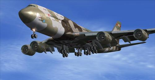 Boeing 747-8 HiRes Retro Liveries paket FSX  &  P3D