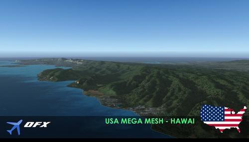 OFX USA Mega Mesh FSX  &  P3D